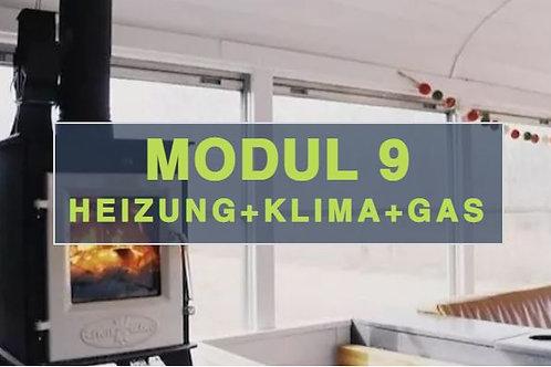 Modul 9 - Heizung + Klima + Gas