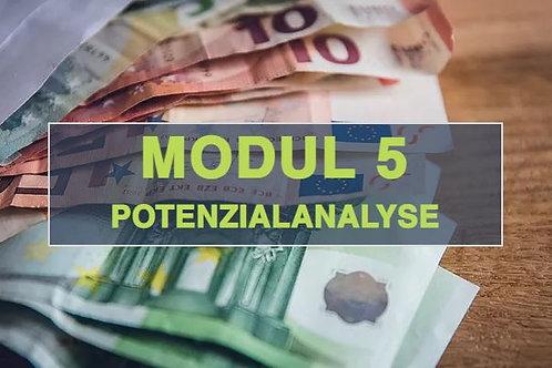 Modul 5 - Potenzialanalyse