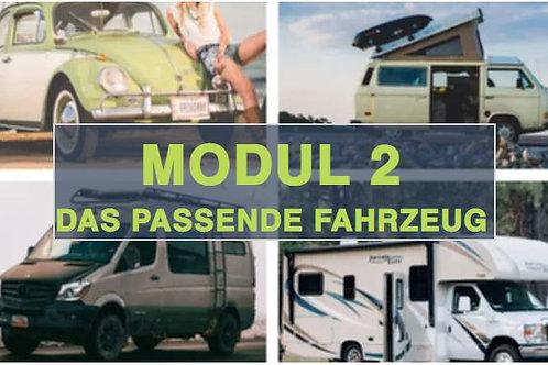 Modul 2 - Das passende Fahrzeug