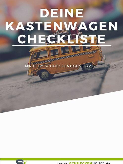 Kastenwagen-Checkliste