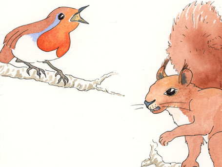 'Roll UP Master Prickles' tweeted Robin
