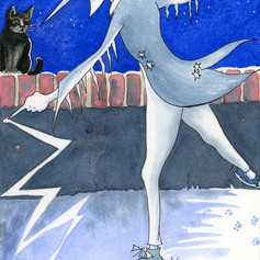 Jack Frost danced till the icicles crackled