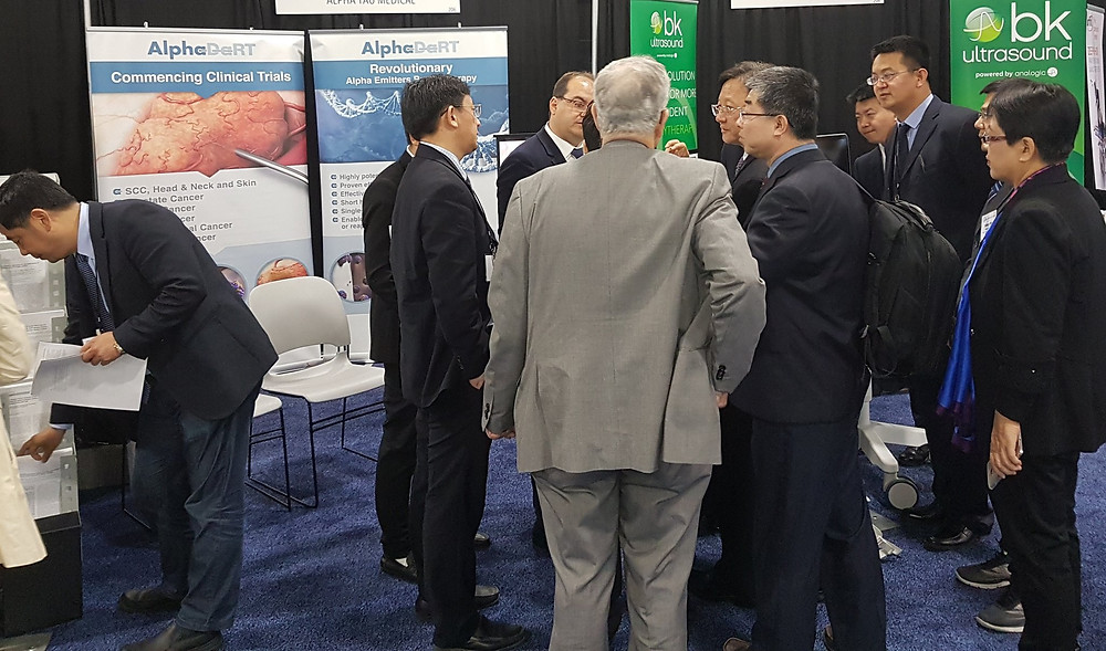 Alpha Tau Medical showed great presence at the American Brachytherapy Society Meeting 2017 in Boston.