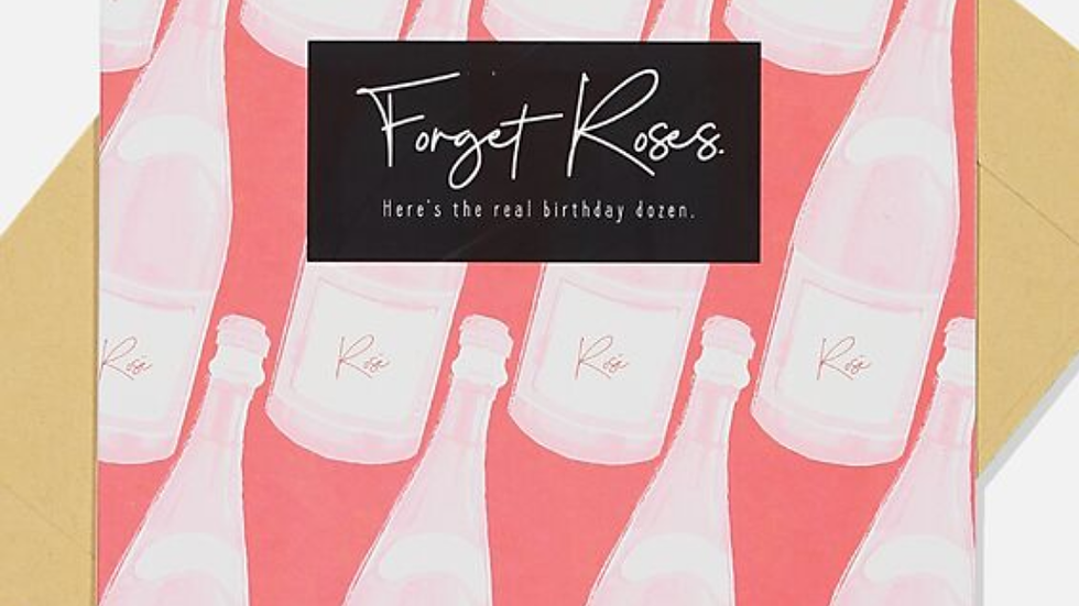 Card - Forget Roses, Here's the Real Birthday Dozen