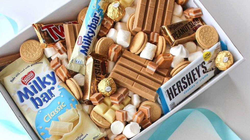 White Gold Chocolate Box