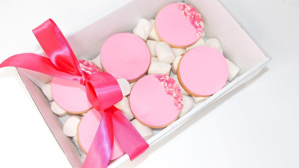 Pink & Sprinkles Cookie Box