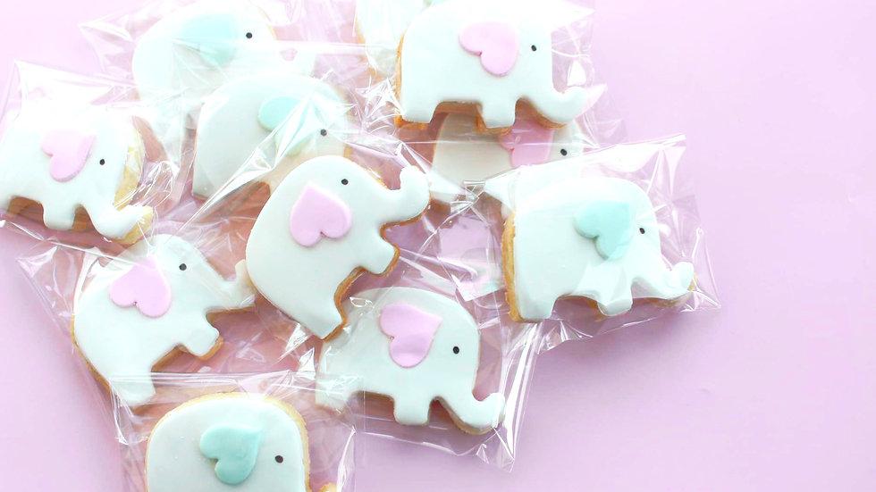 Baby Elephants Cookie Pack