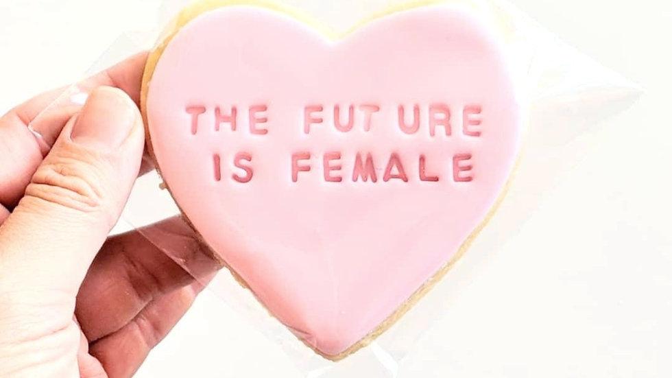 Love Heart Cookies (Custom) x 12