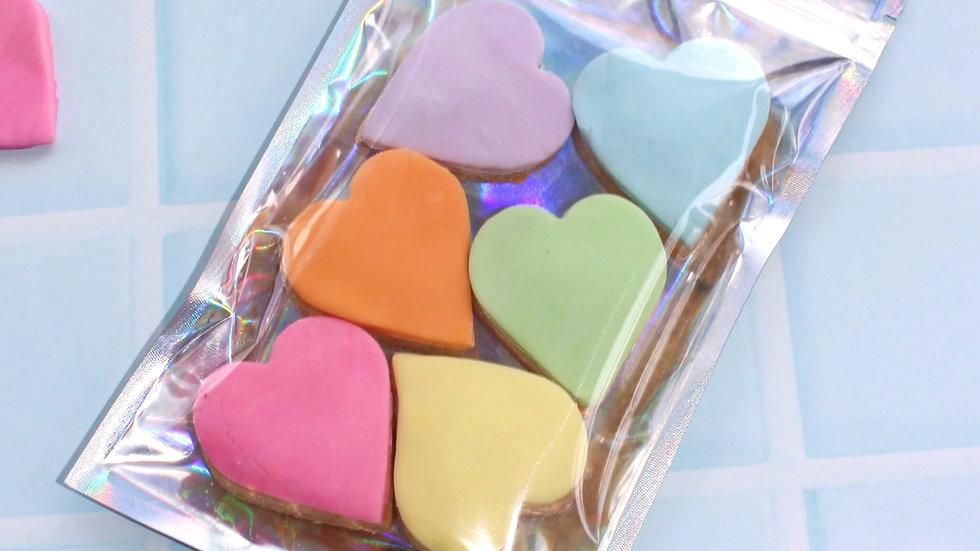 Bag of Rainbow Hearts
