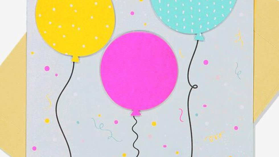 Card - Balloons