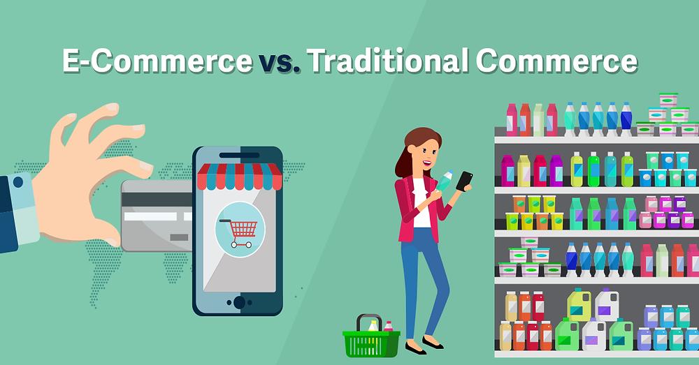 E-commerce vs Traditional Shopping