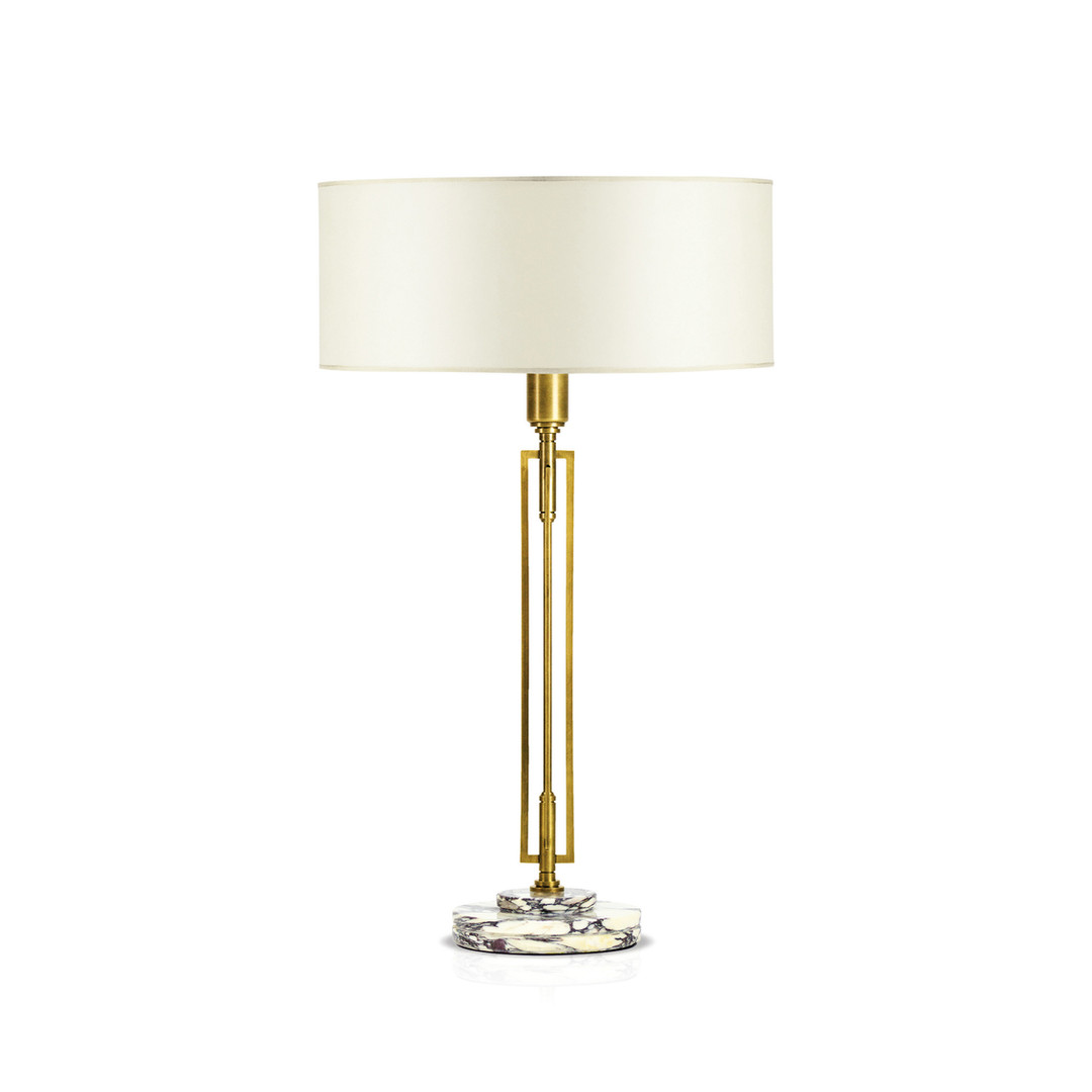 HELIOS BRASS Table Lamp