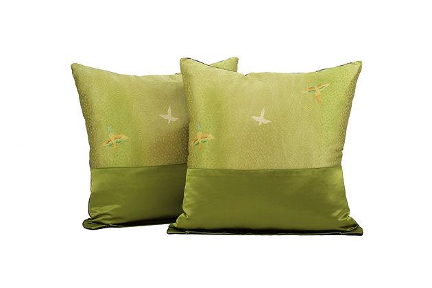 GREEN PARADISE BIRDS