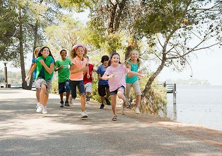 Crianças Running