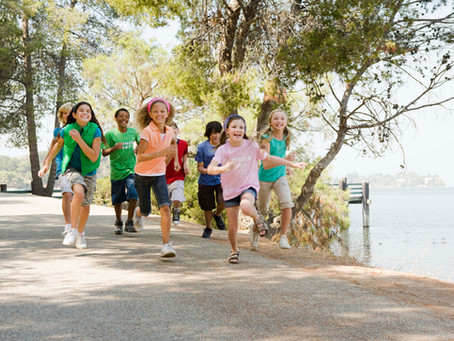 Kid-friendly charity walks and bike rides