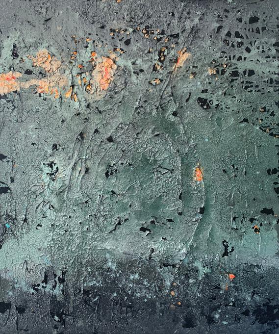 STAR DUST TAIKAYÖ 100 x 120 cm mixed media on canvas  AVAILABLE