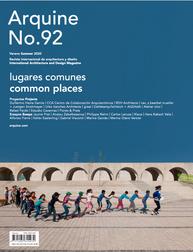 Arquine No. 92 Lugares Comunes