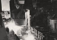"""Fotografía histórica del horno """"Aceración 2"""""""