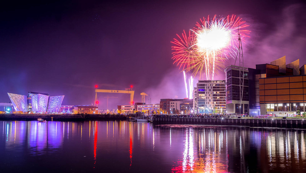 'Colour Burst Belfast' by Conor McCorry ( 11 marks )