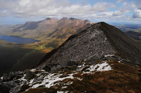 19.5.28 9 An Teallach from Fisherfield c