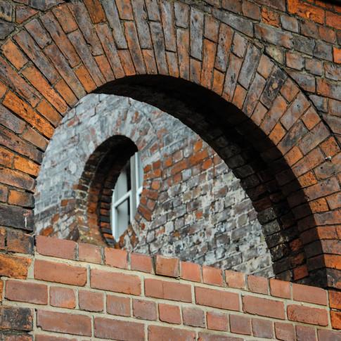 Brickwork - St Andrew's Docks, Hull.