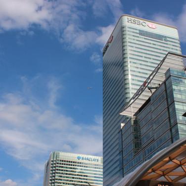 Banks at Canary Wharf