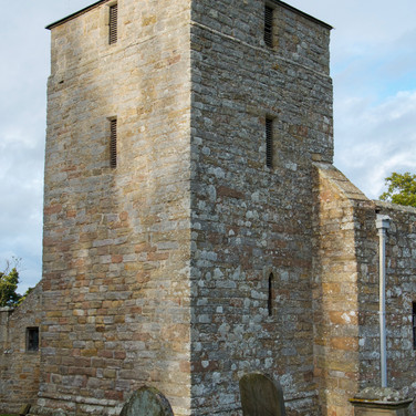 Fortified church tower, Edlingham, Northumberland