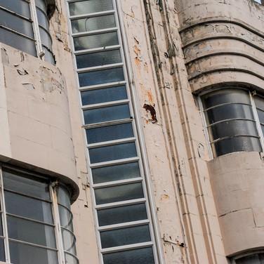 Modernist/Bauhaus inspired building, Hull, UK