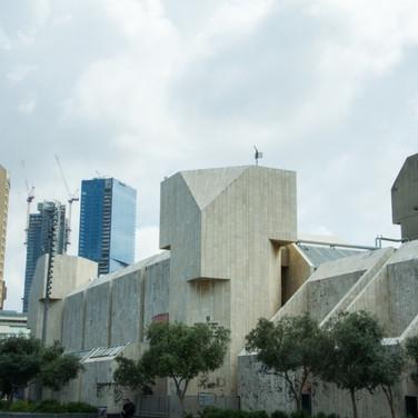 A bit of Tel Aviv brutalism