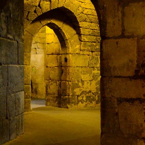 Interior, Warkworth Castle