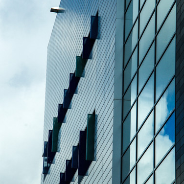 Clouds reflected, Newcastle upon Tyne, UK