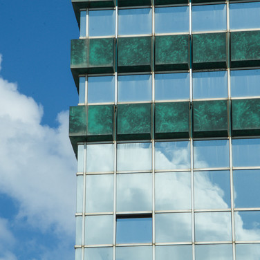 Clouds reflected 2, Tel Aviv