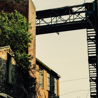 Derelict factory, Hull
