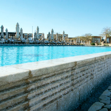 Swimming pool, Mitzpah Ramon hotel, Israel