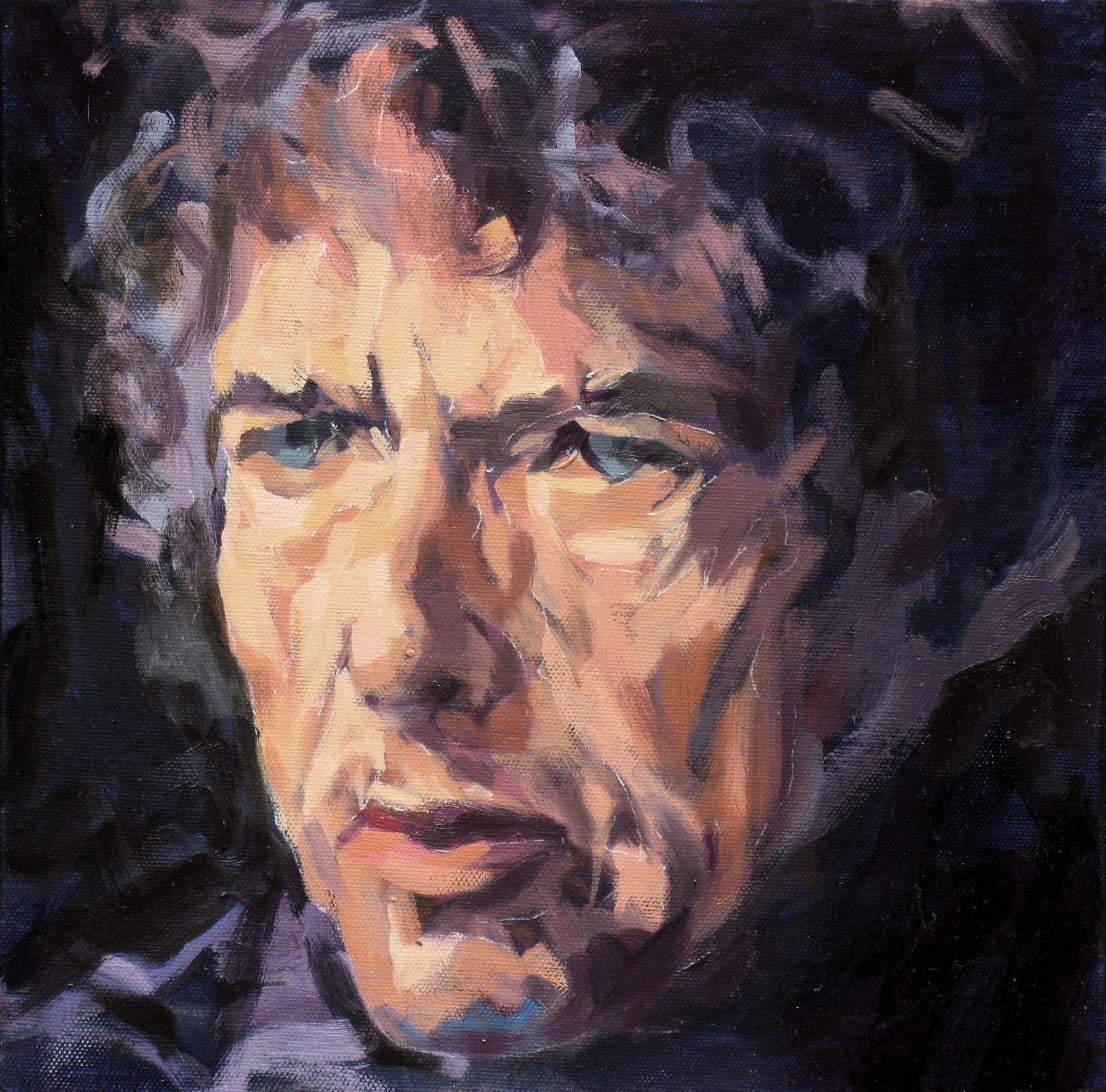 2007,_Bob_Dylan_II,_Öl_auf_Lw.,_30_x_30_cm,_Privatbes.