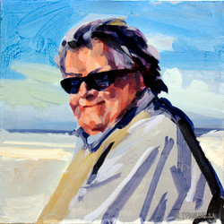 2007, Andreas Kunze, Acryl auf Nessel, 50 x 50 cm, Privatbes.