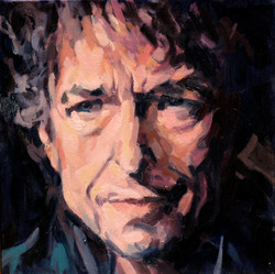 2007,_Bob_Dylan_III,_Öl_auf_Lw.,_30_x_30_cm,_Privatbes.