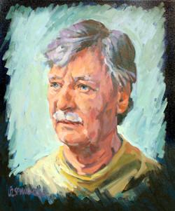 2005, Max, Öl auf Lw., 60 x 50 cm, Loge AZL