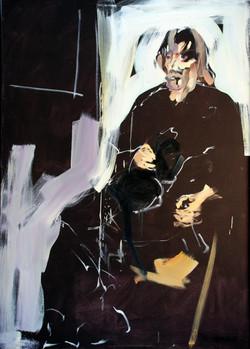 1981, Rainer, Öl auf Lw., 140 x 100 cm, 2.500,00