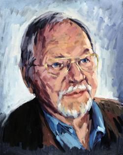 2007, Rainer,  Öl auf Lw., 50 x 40 cm, Privatbes.