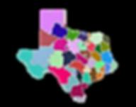 Texas by 3-digit zip code