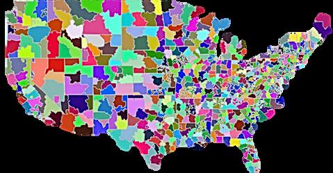 U.S. by 3-digit Zip Code