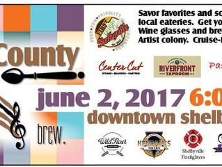 June 2 - Taste of Shelby County