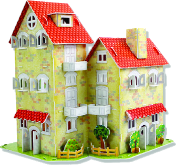 Happy House (Story & Sticker Book Included)