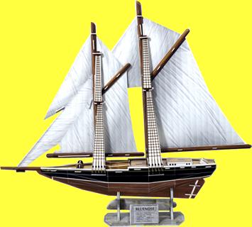 Bluenose Sailing Boat