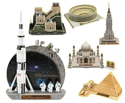 Historical Sites and Events, 3D puzzles