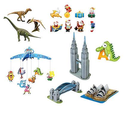 Miniature World, 3D puzzles