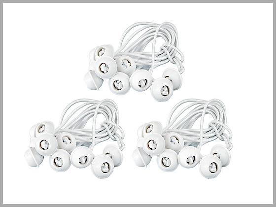 Bungee Cords (30 Pieces)
