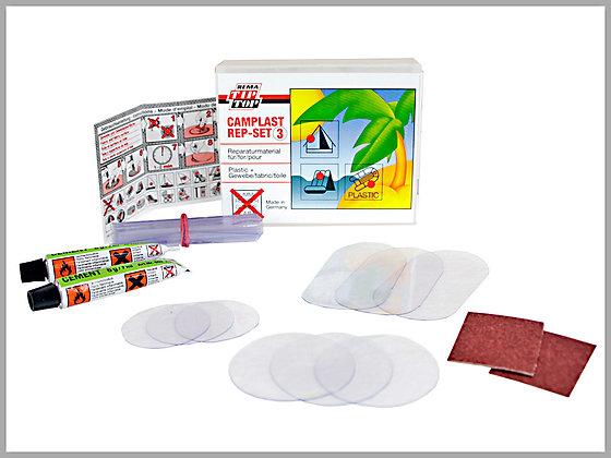 PVC repair kit for windows (14 pieces)