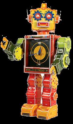 Robot Clock-Tibot
